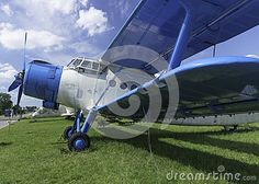 Historic aircraft used in agriculture and transport