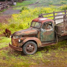 Rusty old Farm Truck