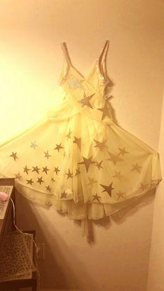 My DIY shooting star costume.