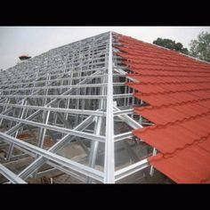 pasang baja ringan di semarang 20 best roof images steel frame house trusses