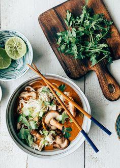 Ramen Recipes, Asian Recipes, Chicken Recipes, Dinner Recipes, Cooking Recipes, Healthy Recipes, Ethnic Recipes, Healthy Food, Curry Ramen