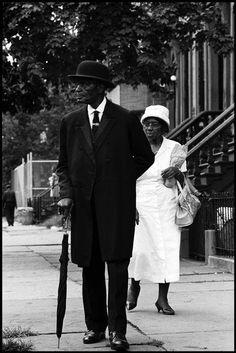 USA. Harlem. NY. 1963. Sunday morning in Harlem. © Leonard Freed/Magnum Photo