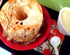 Isla flotante en microondas Bagel, Doughnut, Cooking Recipes, Bread, Desserts, Revolver, Grande, Google, Shape