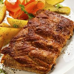 This is the easiest recipe for oven baked ribs that you will come across. Oven Baked Ribs Recipe from Grandmothers Kitchen. Oven Cooked Ribs, Baked Ribs, Oven Baked, Pork Rib Recipes, Meat Recipes, Cooking Recipes, Grandmothers Kitchen, Grilled Pork, Pork Dishes