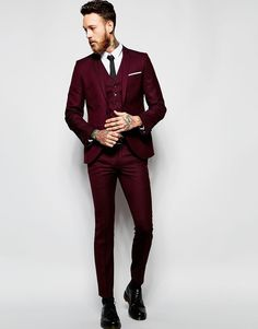 Image 4 of Heart & Dagger Suit Jacket in Birdseye Fabric in Super Skinny Fit