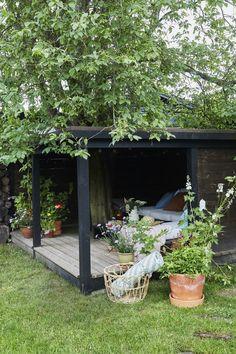 Outdoor Spaces, Outdoor Living, Outdoor Decor, My Secret Garden, Backyard Patio, Garden Inspiration, Home Deco, Outdoor Gardens, Decoration