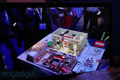 Augmented Reality Lego! (VIDEO) Superimposed fully animated 3D images on Lego boxes.