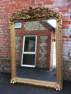 large-antique-french-carved-wood-highly-decorative-mirror