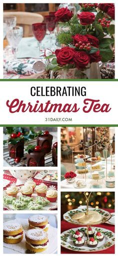 Hosting a Christmas Tea to Celebrate the Holidays There is nothing more festive, more holiday, than a Christmas Afternoon Tea. And, it's easier than you think with these deilcious, holiday recipes! Christmas Afternoon Tea, Christmas Tea Party, Afternoon Tea Parties, Christmas Treats, Christmas Holidays, Winter Tea Party, Daily Holidays, Christmas Christmas, Tee Sandwiches