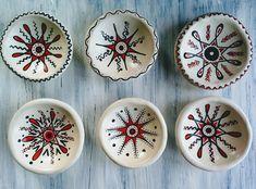 Handmade Clay Decor HandPainted Deco Plates Decorative Clay Pots, Hand Painted, Handmade, Home Decor, Hand Made, Decoration Home, Room Decor, Home Interior Design, Home Decoration