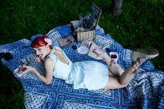 Summer Picnic Blanket, Outdoor Blanket, Happy Summer, Picnic Quilt