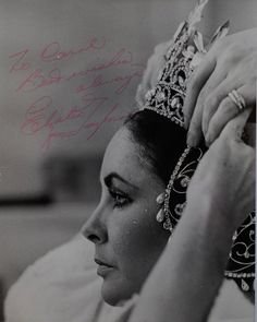 "Elizabeth Taylor Archives - An extremely rare behind-the-scenes photograph of Elizabeth from ""The Blue Bird"" (1976)."