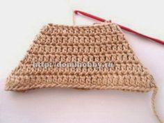 TRICO y CROCHET-madona-mía: Calcetines a crochet paso a paso en fotografía