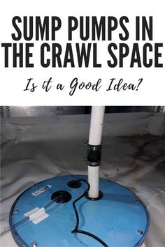 Sump Pumps in the Crawl Space? Is it a Good Idea? Crawl Space Repair, The Crawl, Foundation Repair, Dry Well, Sump Pump, Dehumidifiers, Pumps, Good Things, Pumps Heels