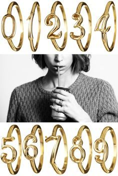 Lulu Frost code rings love the idea of stacking an important number