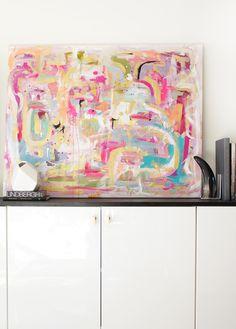 212 - an original painting by Jen Ramos at Cocoa & Hearts