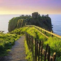 Dunottar Castillo (Escocia)