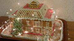 Piparkakkutalo jouluna 2015. Gingerbread House Christmas 2015.