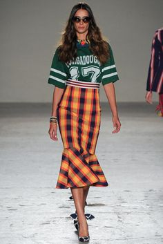 Stella Jean Spring 2015 Ready-to-Wear - Collection - Gallery - Look 1 - Style.com