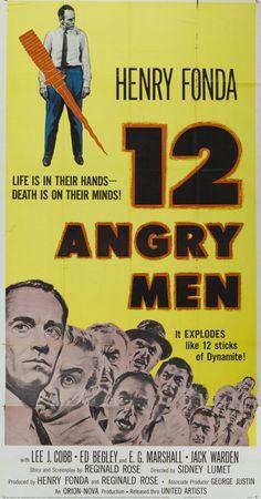 """12 Angry Men"" ""Twelve Angry Men"" (1957) Director: Sidney Lumet"