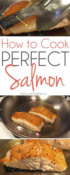 Healthy Tips With this foolproof trick you can enjoy restaurant quality seafood at home -- cook perfect salmon every single time! - A foolproof method to cook perfect salmon every single time! Fish Recipes, Seafood Recipes, Yummy Recipes, New Recipes, Cooking Recipes, Yummy Food, Healthy Recipes, Cooking Games, Cooking Classes