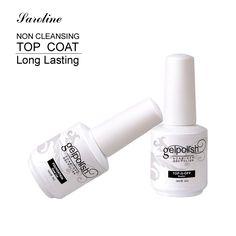 Discount Saroline Base Coat Top Coat Gel UV Nails 15ml Gelpolish Nail Soak Off Gel Lacquer Varnishes. Click visit to read descriptions