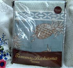 TOMMY BAHAMA 72x72 100% COTTON ~ PINEAPPLE $32.00