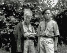 David Bowie as a scout, 1959