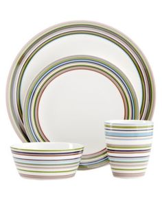 Iittala Dinnerware, Origo Brown Collection - Casual Dining - Kitchen - Macy's