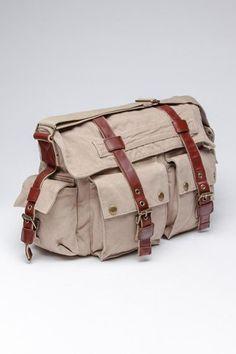 3d42fa252244 J. Campbell Washed Canvas Messenger Canvas Messenger Bag