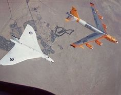 Boeing and Avro Vulcan, mighty Cold Warriors Military Jets, Military Aircraft, V Force, B 52 Stratofortress, Avro Vulcan, Drones, Experimental Aircraft, Naval, Aircraft Photos