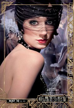"Jordan Baker represents one of the ""new women"" of the boyish, and self-centered. Watch Elizabeth Debicki bring to life the character of Jordan Baker in the upcoming movie 'Great Gatsby'. The Great Gatsby Characters, The Great Gatsby Movie, Great Gatsby Theme, Great Gatsby Fashion, 20s Fashion, 1920 Theme, Flapper Fashion, Fashion Mode, Fashion Killa"