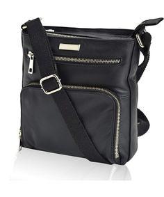 17f6e703660c Leather Crossbody Purses and Handbags for Women-Premium Crossover Bag Over  the Shoulder Womens - Black Nappa - CJ1800LSO4S