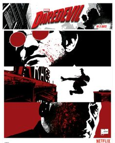 Daredevil Netflix Promo Art. OMG! Where are all these promo art things?! WANT!