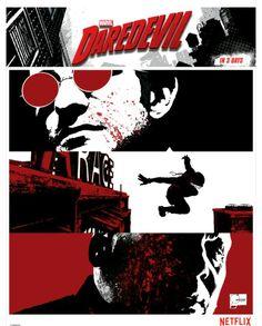 Daredevil Netflix Promo Art