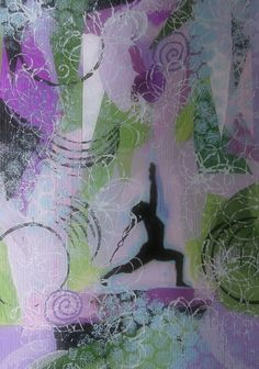 Yoga art by Jane Monica Tvedt