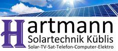 Hartmann Solartechnik, Küblis, Prättigau, Photovoltaik, Elektroinstallationen, Telefon & Internet, TV & Computer