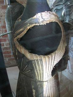 Arming jacket, padded jack, or gambeson, 1440 — 1460 Holstentor Museum, Lübeck
