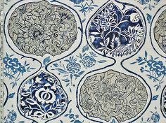 Lee Behran Silks fabric ethnic retro batik white destash from Brick House Fabric: Novelty Fabric