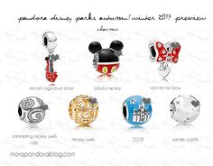 The Sneak Peek Of The Disney Park Exclusive Pandora Collection For Fall/Winter 2017 Is Here!