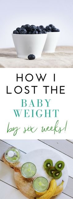 I was able to lose all of my baby weight by six weeks after all three of my pregnancies, not because I'm special or naturally super skinny in any way. I have to eat healthy and stay active, just like anyone else who wants to stay fit. It takes some effort and changing your lifestyle, but you can do it! Here's exactly what I do, to lose the baby weight by my six week check up, and I know you can do it too!!