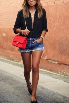 55 Lovely Casual Dress Ideas For Women To Look Chic Mode Outfits, Short Outfits, Spring Outfits, Casual Outfits, Fashion Outfits, Fashion Trends, Dinner Outfits, Fashion Bloggers, Casual Shirts