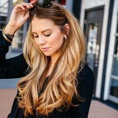 Hair Color Balayage Blonde Long Layered 39 Ideas For 2019 Easy Hairstyles For Long Hair, Pretty Hairstyles, Ladies Hairstyles, Long Haircuts, Layered Hairstyles, Formal Hairstyles, Hairstyle Ideas, Haircut Long, Blonde Hairstyles
