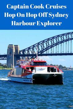 Sydney Harbour Hop On Hop Off ferry tour.