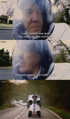 Top Gear! I laughed too hard at this. He's just too cute. I love him so much. ~The Doctor