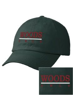 William Woods University Owls Embroidered Garment Washed Twill Vintage-Style Cap