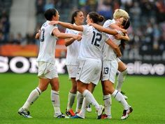US WNT to face France, Colombia and Korea in Group G at 2012 London Olympics! Let's go girls