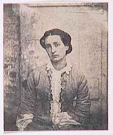 Auguste Vacquerie - Reproduction de peinture et tableau: Adèle Hugo en buste