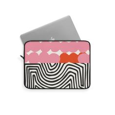 Laptop Sleeve with Modern Art – WavyBazaar