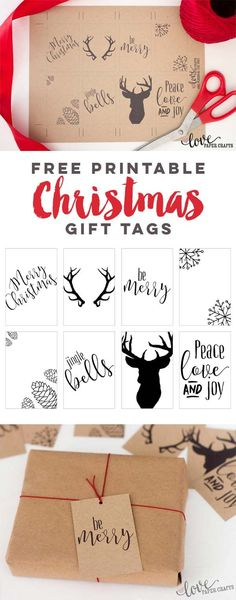 Free Printable Christmas Gift Tags | LovePaperCrafts.com